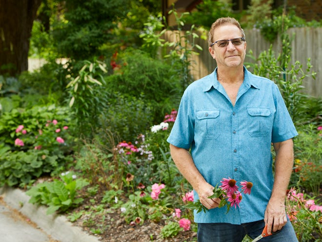 Lyon-Hart Gardens is home to Reiman Gardens' director Ed Lyon and his partner Dylan Hart. The property surrounds a 1910 Victorian home in downtown Ames and will be featured on Saturday, June 5, during the Spring Garden Tour organized by the Ames Altrusa Club.
