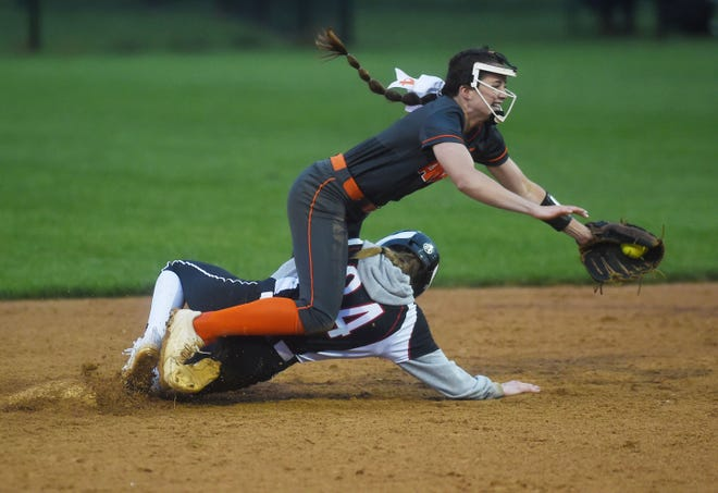 Ames shortstop Ellie Lynch was given all-state honors by the Iowa Girls Coaches Association in 2021. Lynch was named to the Class 5A second team.