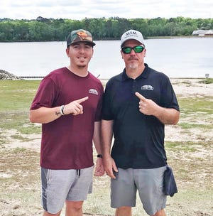 Dalton Mundy and his father Hal have been competing in disc golf tournaments across South Carolina. The Williston residents are excited to bring a tournament to their hometown on June 5 to help raise money to expand the Williston disc golf course.