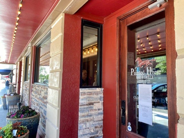 The Painted Horse Bar & Grille has decreased its hours due to trouble recruiting kitchen staff.