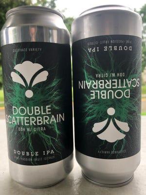 Double Scatterbrain IPA - Bearded Iris Brewing Co., Nashville, Tenn.