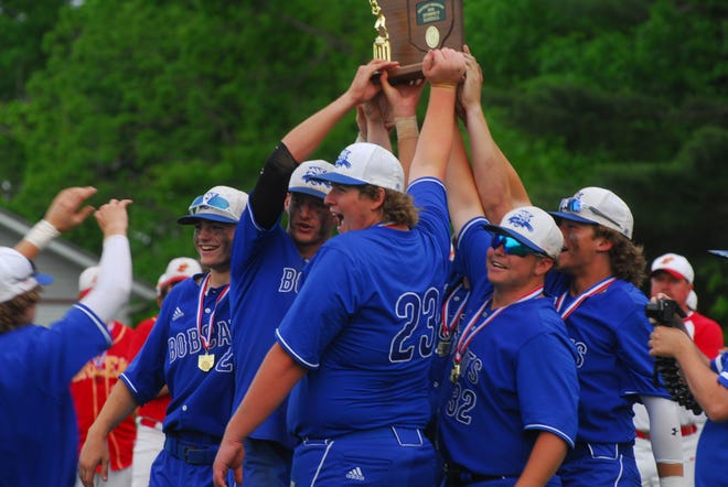 The Cambridge Bobcat Baseball team defeated Indian Creek to claim the District title.