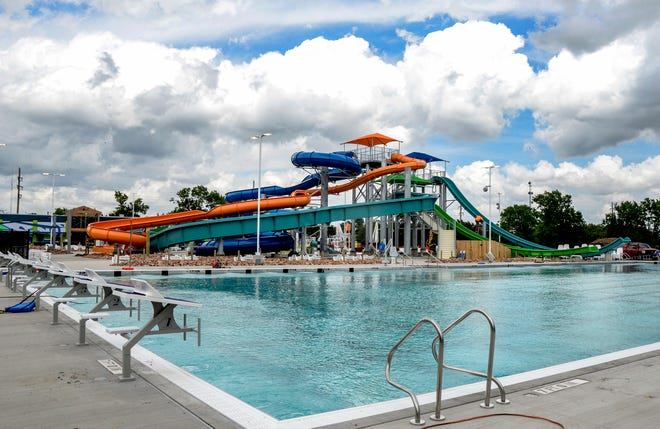 Garden Rapids at The Big Pool includes a five-slide tower with a tube slide, body flume, two Fly Time slides and one Slipstream, a stand-up slide. It also includes a competition pool with the option for 50 meters and 25 yards. The facility opens May 29 for the 2021 summer season.