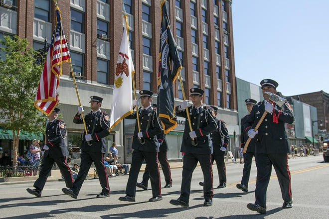 The annual Galesburg Memorial Day Parade was held downtown on Monday, May 28, 2018.