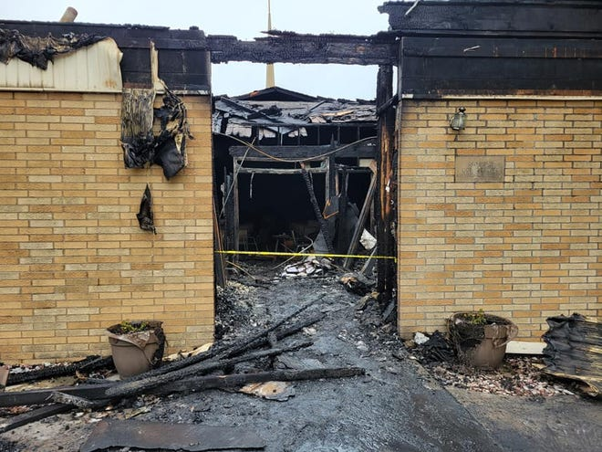 VIOLA — As parishioners deal with the loss of St. John's Church in Viola to fire, a 12-year-old boy has been arrested for arson.