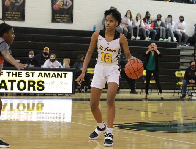 St. Amant's Deniya Thornton is the Parish MVP.