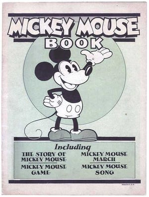 The first ever Mickey Mouse children's book was illustrated by Albert Barbelle, a Fall River native.