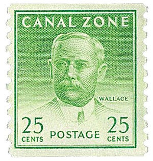 John Findley Wallace, a Fall River native, was chief engineer for the Panama Canal from 1904 to 1905. His work was commemorated on a U.S. postage stamp from the Canal Zone.