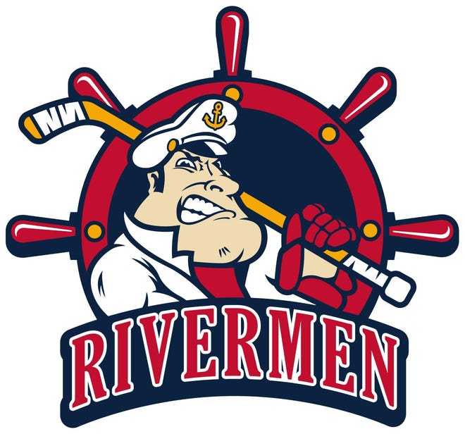 A new Peoria Rivermen logo incorporates the franchise's traditional paddlewheel with The Captain, a popular mascot and logo from the team's ECHL era. It will be used as a co-primary logo in the 2021-22 SPHL season.