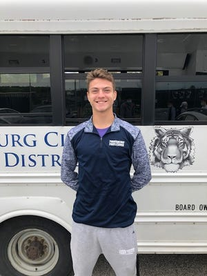 Twinsburg senior Brian Nesic recently competed at the Division I district tournament.