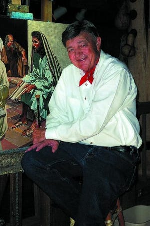 Kenneth Wyatt, a former Methodist minister known for his prolific work as an artist painting western and faith-based works, died this week at age 90.