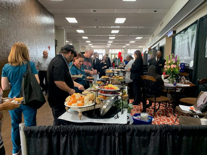 The annual Lubbock Chamber of Commerce Business Expo is a chance for members of the area business community to network.