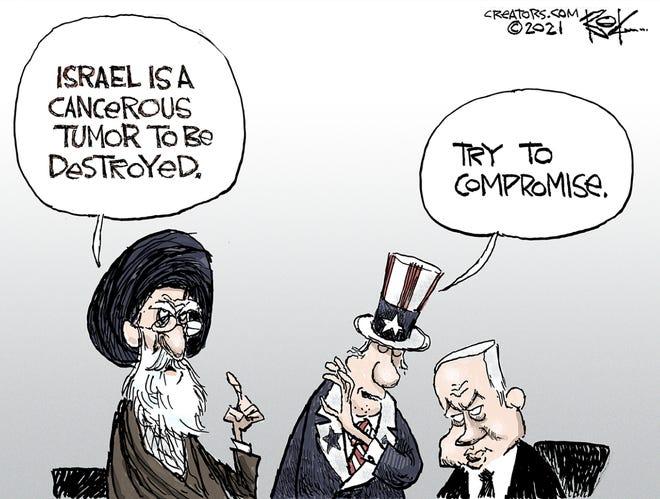 Today's editorial cartoon (May 30, 2021)