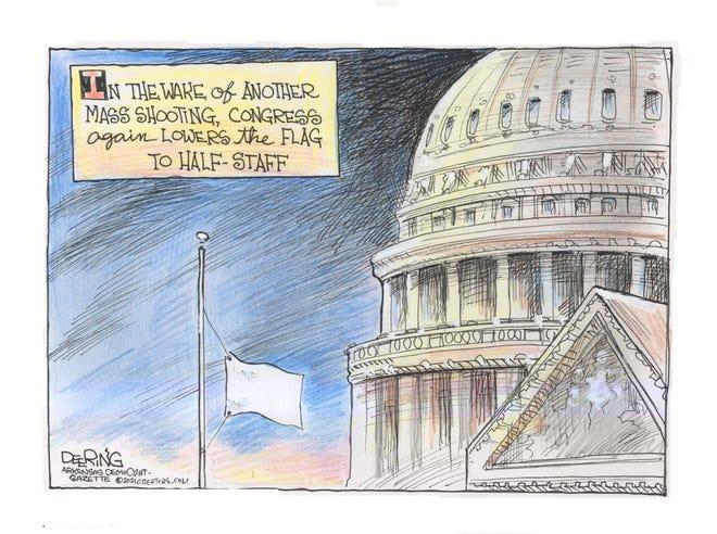 Today's editorial cartoon (May 29, 2021)