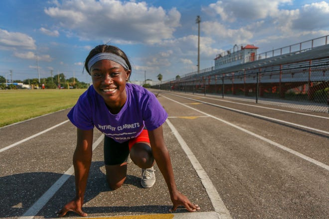 Kathleen senior I'Asia Wilson missed the high school state meet because of an injury but will run in the Golden South on Saturday at Lake Region. She was one of the top-ranked sprinters in the 100 and 200 in Class 3A this past season.