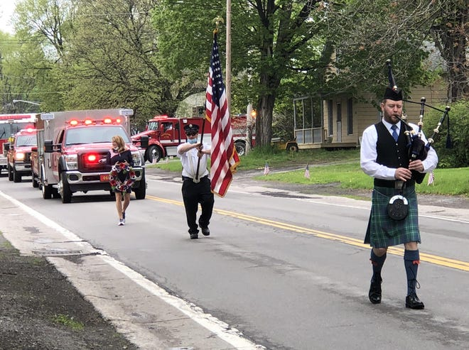 As is tradition, the Canandaigua hamlet of Cheshire will again host a Memorial Day parade and ceremony on Saturday, beginning at 10 a.m.