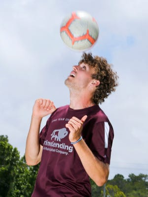 Niceville's Logan Harrelson is the Boys Soccer Player of the Year.