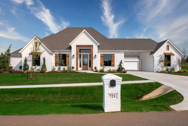 Landmark Fine Homes has this house at 721 Villaverde Drive in Norman in the Festival of Homes.