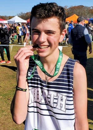 William Buckley of Plymouth North High has been named to The Patriot Ledger All-Scholastic Boys Cross Country Team.