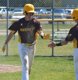 Ethan Landon and the Hornets closed out the regular season on a high note and snapped a skid in a tough final week.