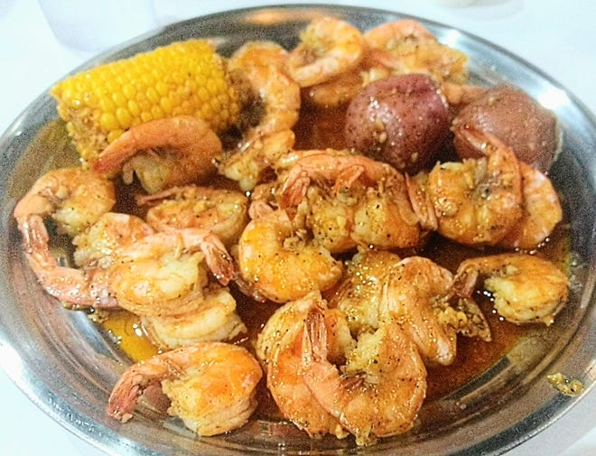A + Crab recently opened on Tuscarawas Street W in a shopping plaza in Canton. Specialties are the low-country seafood boils, available with a number of options and varying spice levels.