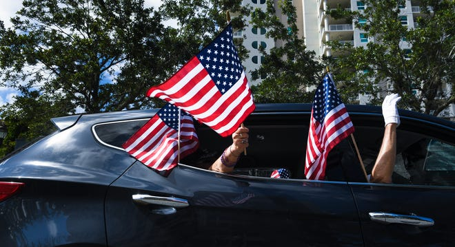 Local veterans will march down Main Street, in Sarasota, beginning at 10 a.m., with a commemoration ceremony at J.D. Hamel Park at 11 a.m.