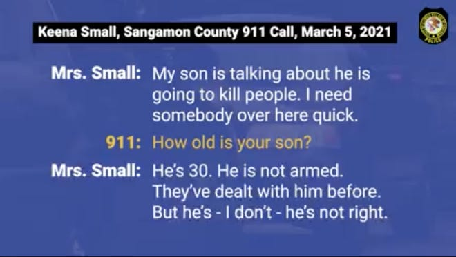 The Chatham Police Department released the 911 call and dashcam video in the March 5 incident involving Gregory Small Jr.