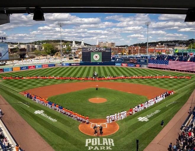 Polar park on opening day May 11.