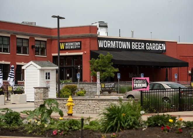 Wormtown Brewery on Shrewsbury Street.