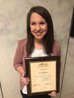 Hillcrest High School teacher Leah Hughes has been named as a finalist for Alabama Teacher of the Year.