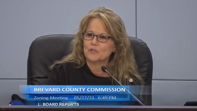 """Commission Chair Rita Pritchett said she """"probably could have done things better"""" on her bid in May to end water fluoridation at the county-run treatment plant in Mims."""