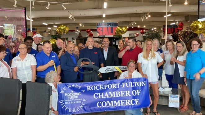 Bel Furniture held a grand opening on Friday, May 28, 2021 in Rockport.