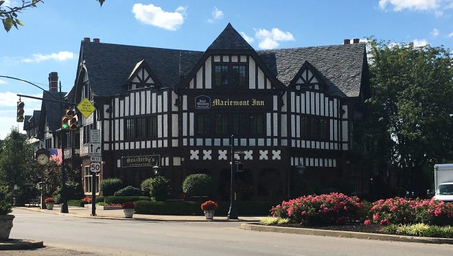 The Mariemont Inn is one of six businesses participating in Mariemont's new  Designated Outdoor Refreshment Area (DORA).