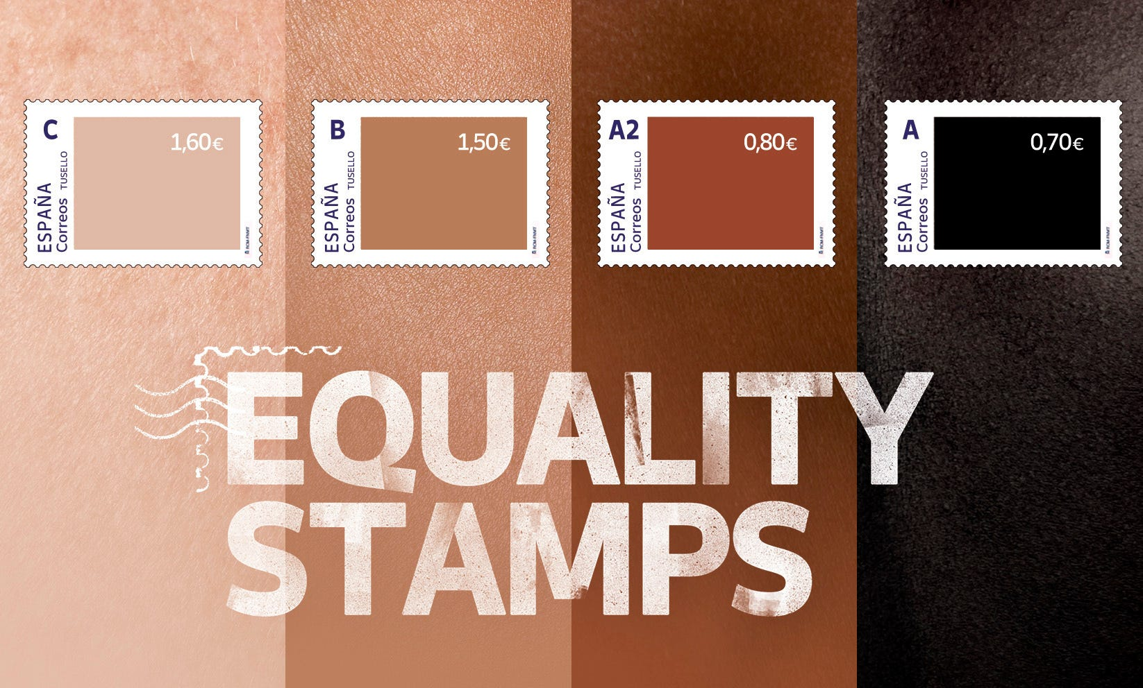 Spain criticized for unequally priced 'equality stamps' 2
