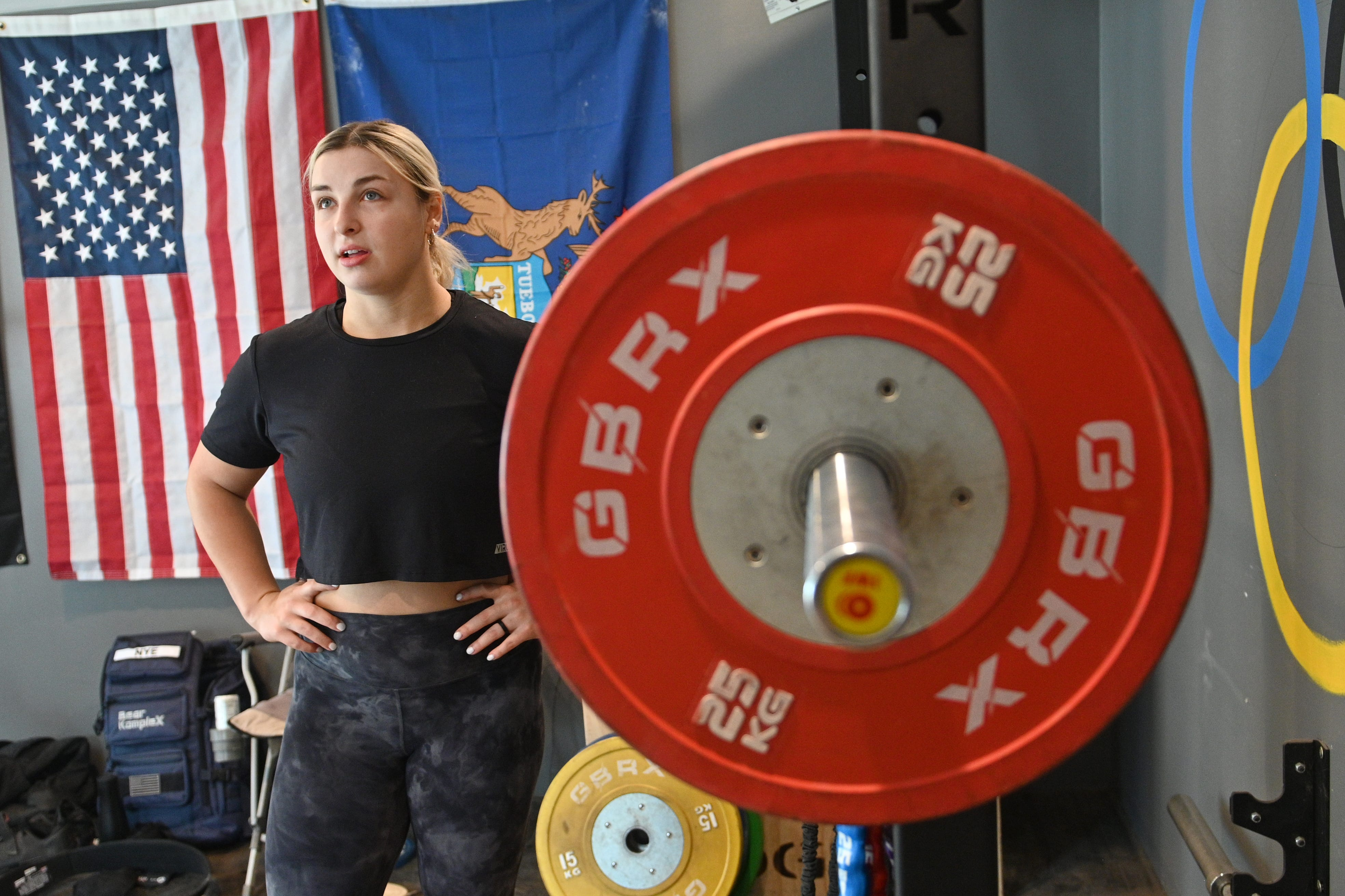 Niyo: For Michigan's Kate Nye, Olympic dream was worth the weight 1