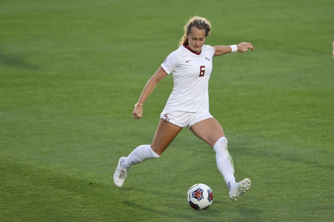 Former Fossil Ridge student and current Florida State soccer player Jaelin Howell won the Hermann Trophy as the top Division I women's soccer player in the spring of 2021.