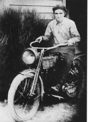 Frog Smith as a young man