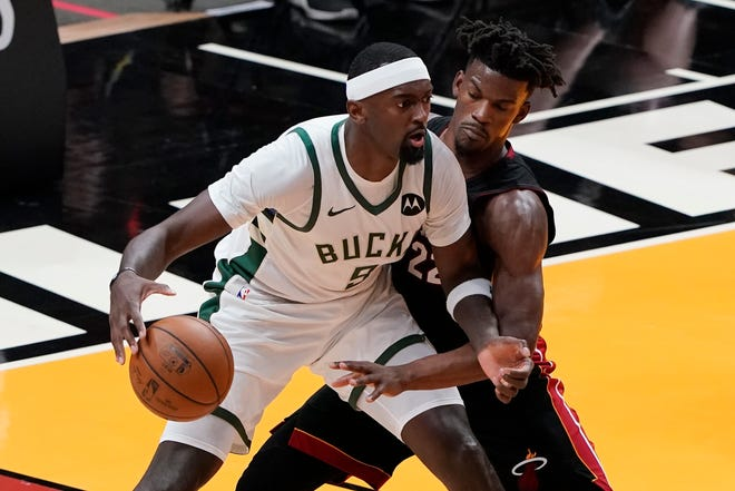 Bobby Portis is eager to watch playoff games as he waits for the Bucks' next round to begin.