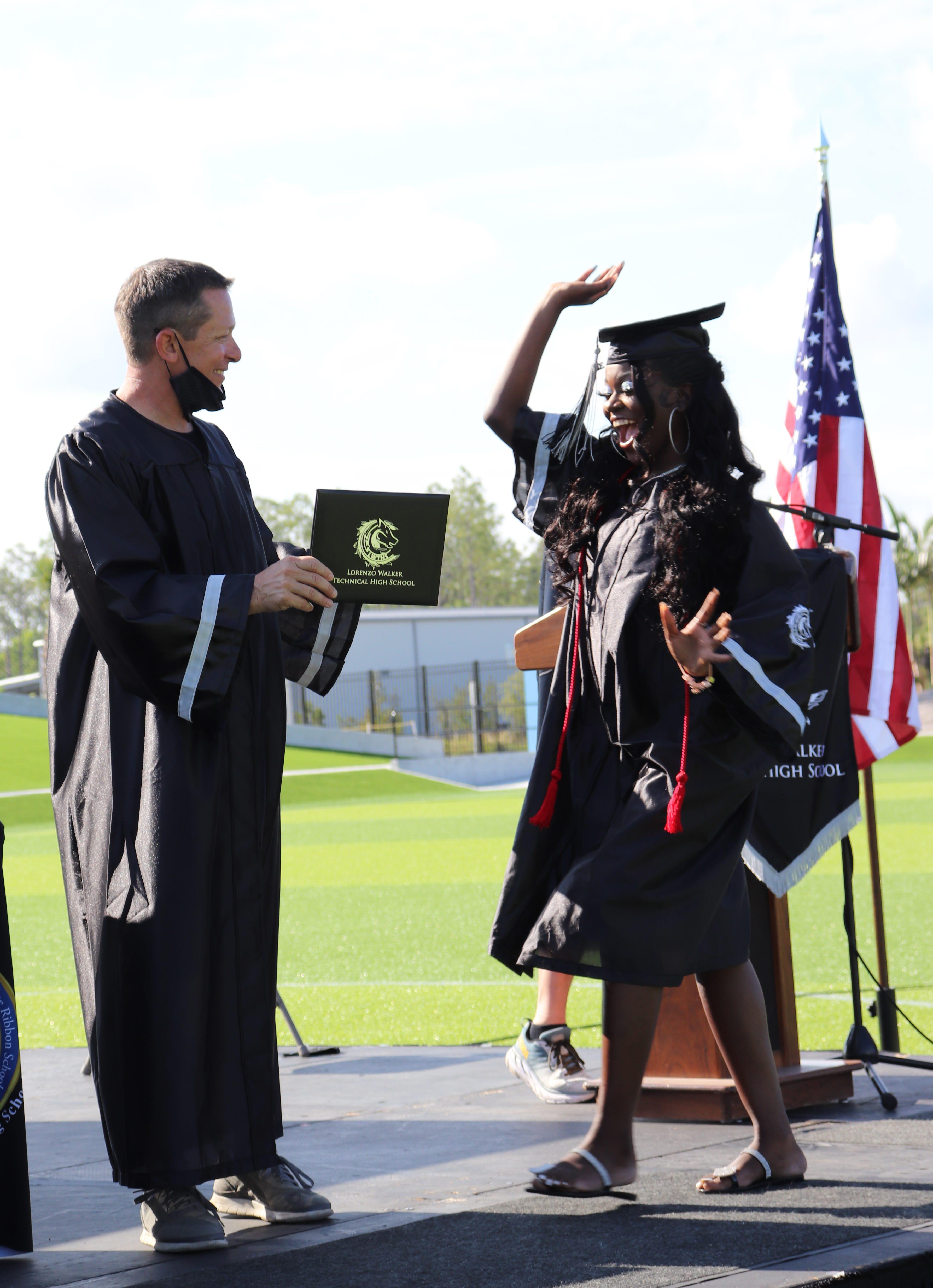 Graduation 2021: Lorenzo Walker Technical High School 3