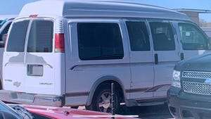 Police released an image of Wardell's van hoping more people will come forward with information.
