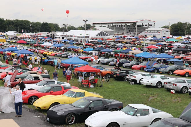 More than 5,000 Corvettes annually attend the Carlisle event, the largest in the country and the world