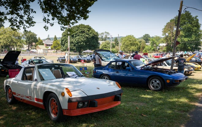 The Deutsche Classic attracts Porsches far and wide from 911s and 356s to 944s and 914s.