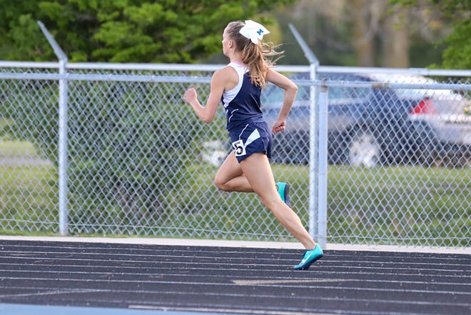 Marysville's Reese Powers qualified for the girls track and field state championship in all four events she competed in during last week's Division 2 regional.