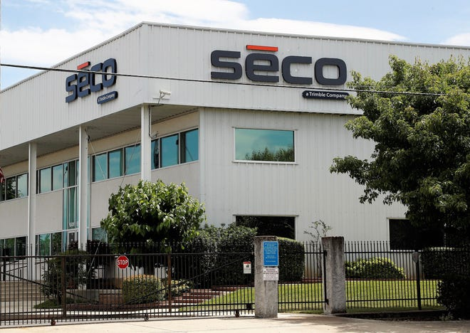 SECO's Redding plant is at Beltline and Oasis roads. The company designs and manufactures tools and other equipment for surveying, construction, and other industries that use GPS/GNSS technology. Paul Ogden built SECO into a multimillion-dollar global corporation before it was sold to Trimble Navigation of Sunnyvale in 2008. Ogden died Wednesday, May 26, 2021 at the age of 81.