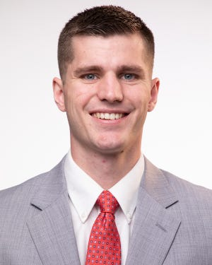 Dixie State senior forward Hunter Schofield was named a second-team academic All-American on Friday.