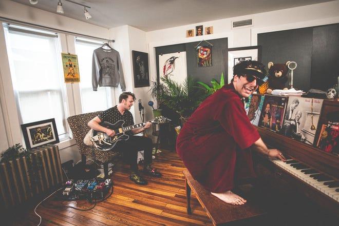 """Low Cut Connie guitarist Will Donnelly, formerly of Newark, and piano-frontman Adam Weiner are the creators of the """"Tough Cookies"""" web show, which they're bringing to Arden in a sold-out show Friday."""