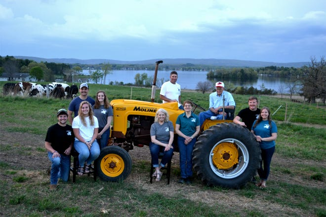 While Schoepp Farms may not be a traditional dairy farm, they're connected to the dairy-farming community. They are proud to be very involved in conservation promotion and love to encourage and work with other farmers in regard to land-management practices that help retain soil on the land, and out of lakes and rivers.