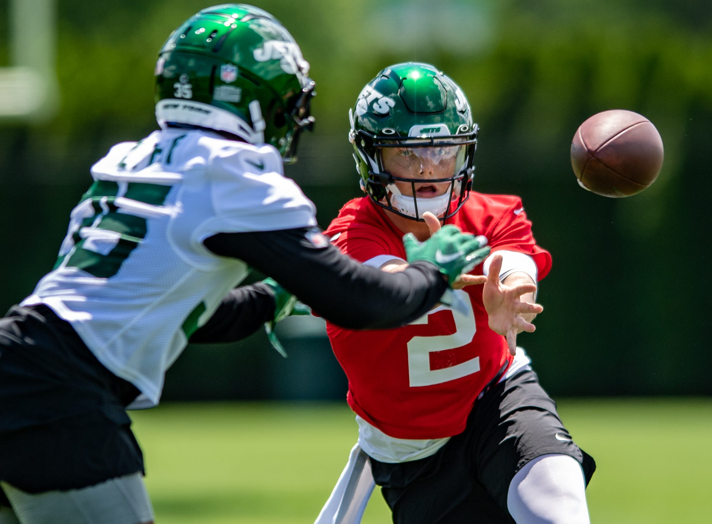 Rookie QB Zach Wilson (2) and Jets have a large hill to climb in 2021.