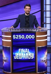 """This year's """"Jeopardy!"""" Tournament of Champions ended Friday withMinnesota substitute teacherSam Kavanaugh taking homethe $250,000 first-place prize."""