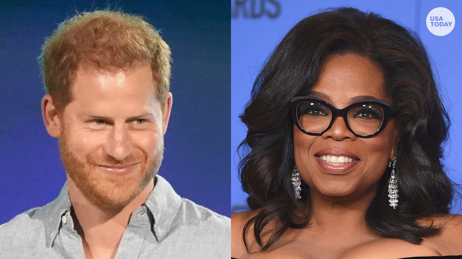Prince Harry and Oprah reunite for a town hall on mental health